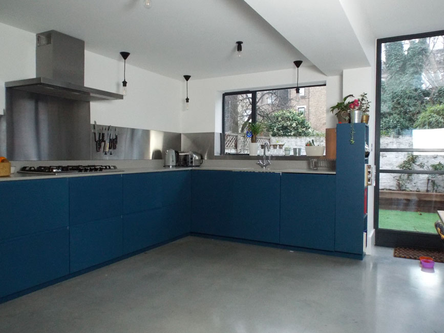 Clapton kitchen by Bespokea