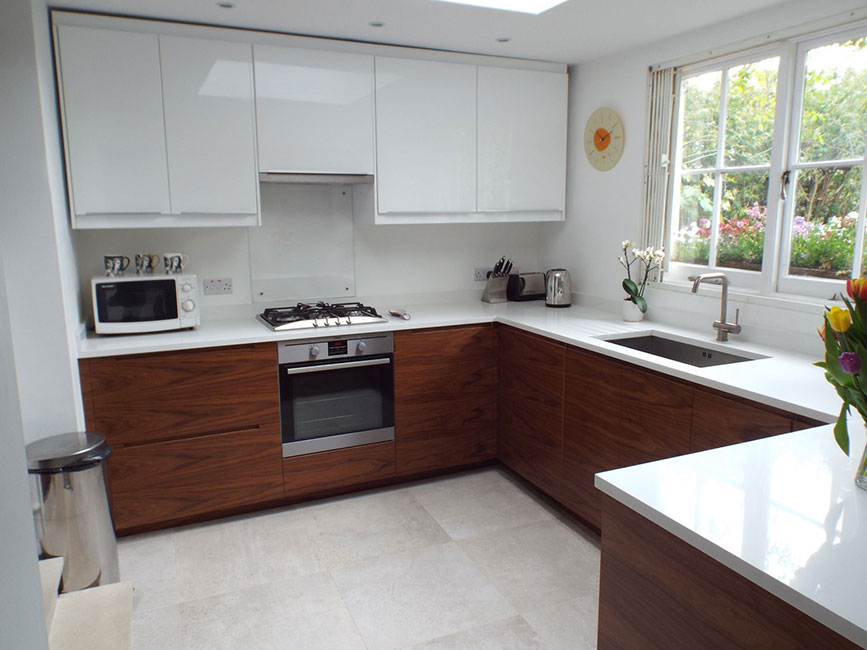 Finsbury Park kitchen by Bespokea