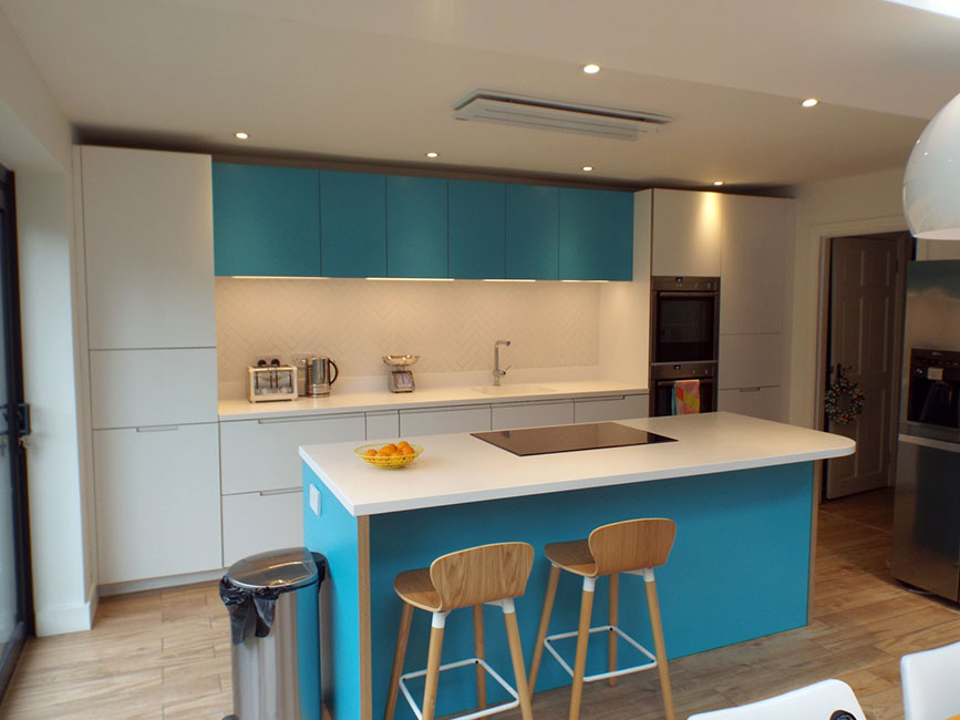 Stoke Newington kitchen by Bespokea